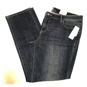 NWT Liz Clairborne Classic Fit Petite Jeans